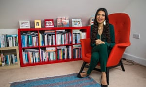 'A concern about inequality has always been a part of me': Faiza Shaheen at home in Walthamstow, east London.