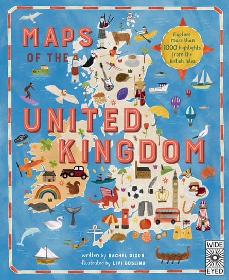 Maps of the United Kingdom by Rachel Dixon and Ms. Livi Gosling