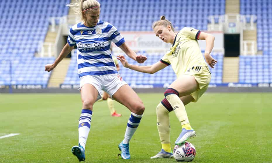 Vivianne Miedema during her two-goal display at Reading last weekend