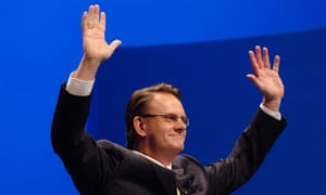 Mark Latham, pictured when he was Labor leader in 2004. The controversial writer has been signed up by celebrity agent Max Markson.