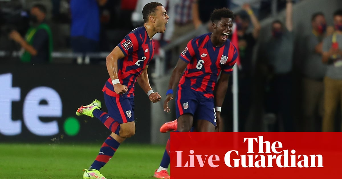 USA 2-1 Costa Rica: 2022 World Cup qualifier – as it happened