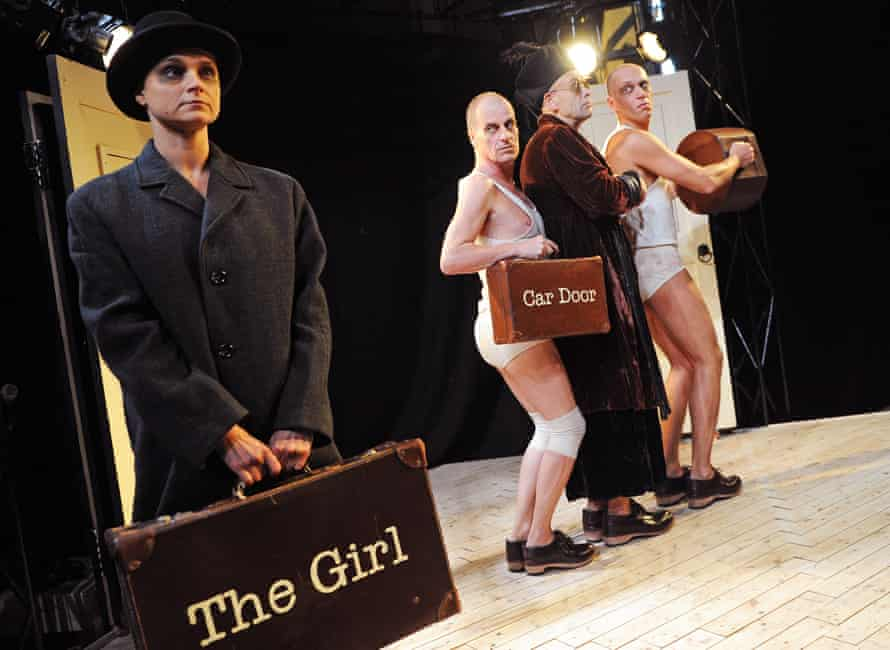 Controversial … Patrycja Kujawska, Mike Shepherd, Dave Mynne, Robert Luckay in The Red Shoes.