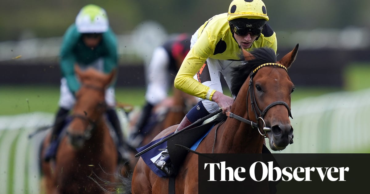 Outsider Third Realm first past the post in Lingfield Derby Trial