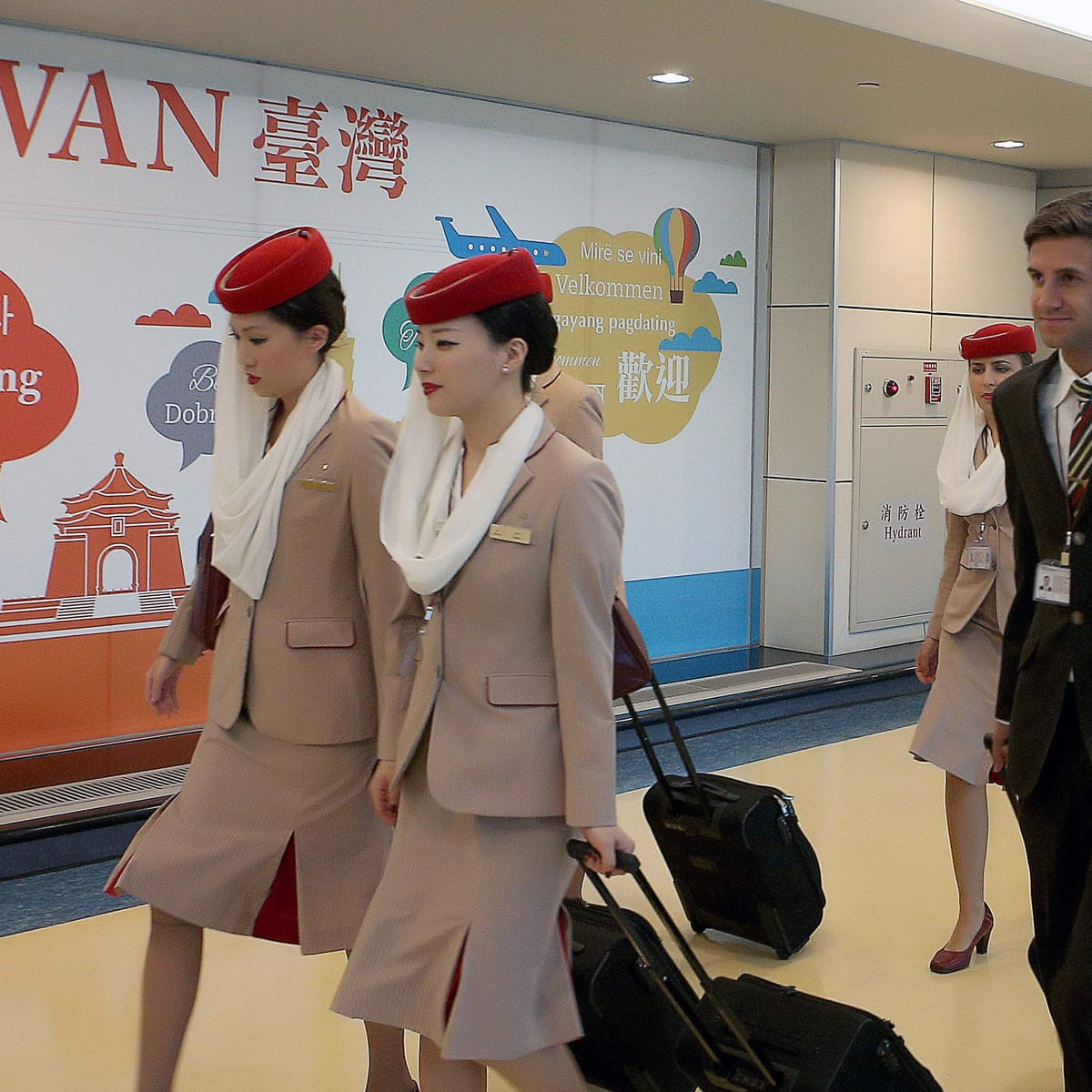 Emirates Tells Cabin Crew To Swap Taiwanese Flag Pins For Chinese