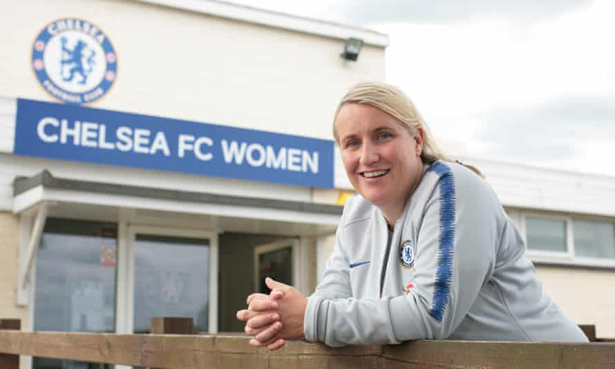 Emma Hayes Chelsea women manager