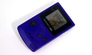 Small Handheld Game Pokemon