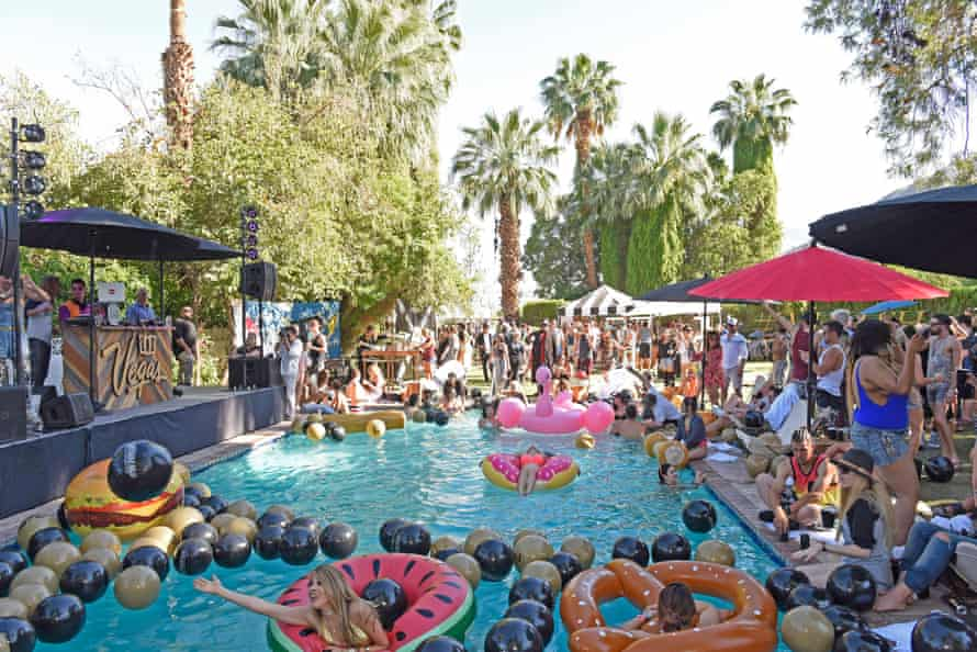 A pool party thrown by the Las Vegas #WHHSH offsite.