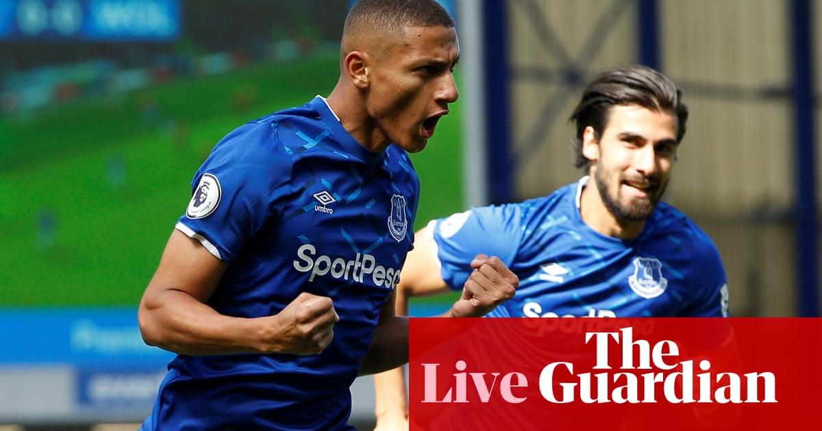 Everton v Wolves: Premier League –live!