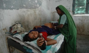 A maternity ward in Bihar, eastern India
