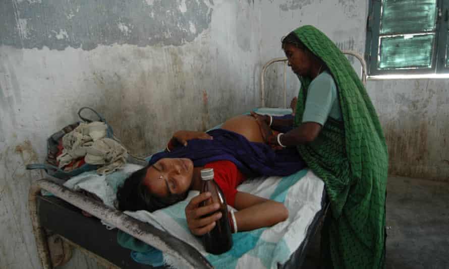 A maternity ward in Bihar, eastern India