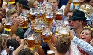 Oktoberfest ... only here for the (expensive) beer.