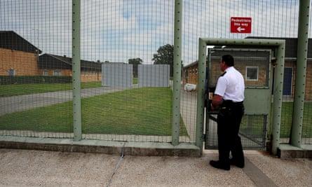 Morton Hall immigration removal centre in Lincolnshire