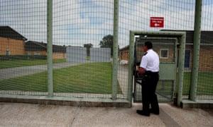 Morton Hall immigration removal centre near Swinderby, Lincolnshire.