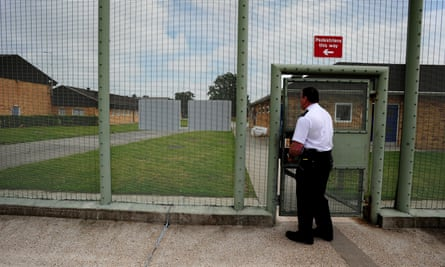 Morton Hall immigration removal centre near Swinderby, Lincolnshire.