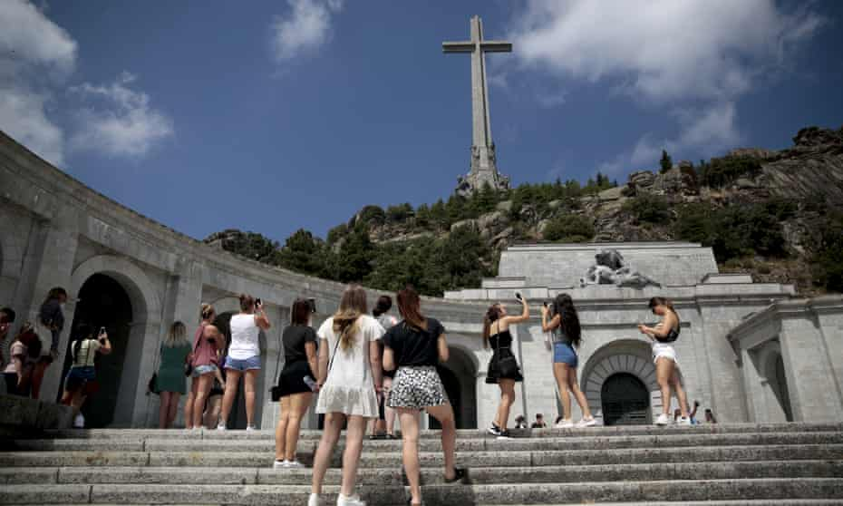 The Valley of the Fallen monument outside Madrid.