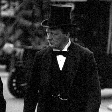 Winston Churchill in 1910.