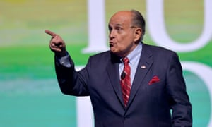 Rudy Giuliani said of George Soros: 'I probably know more about – he doesn't go to church, he doesn't go to religion – synagogue. He doesn't support Israel, he's an enemy of Israel.'