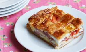 Bacon-and-egg pie by Margot Henderson.