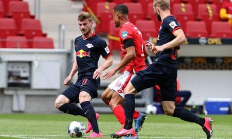 Bundesliga roundup: Werner treble fires Leipzig back to third, Schalke crash