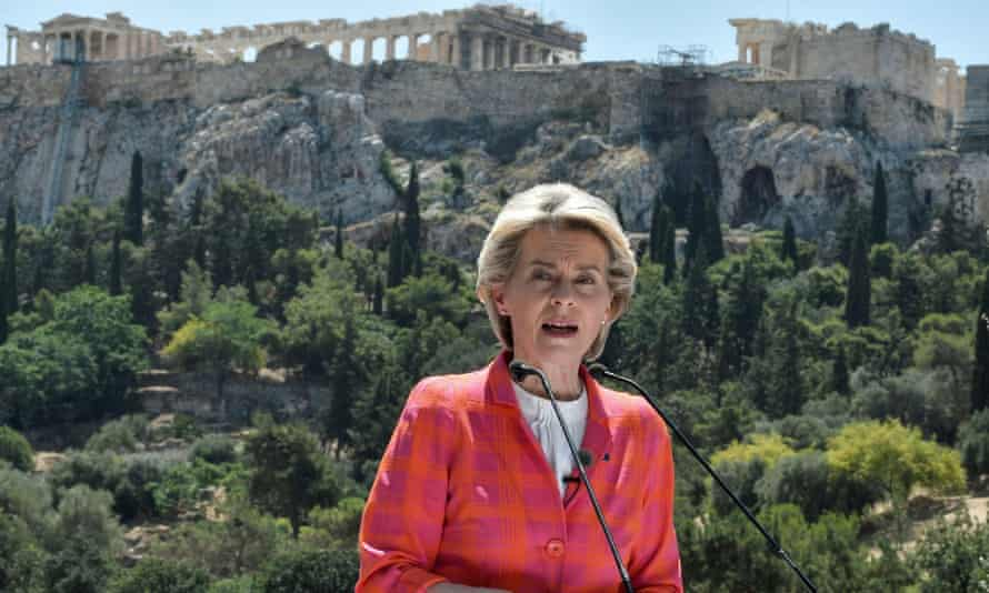 Ursula von der Leyen insists citizens will 'play a leading and active part in building the future of our union'.