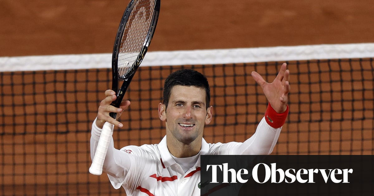 Near-perfect Novak Djokovic destroys Daniel Elahi Galán at French Open