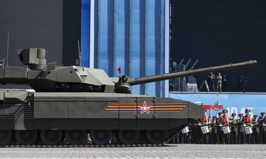Russia's Armata T-14 battle tank can autonomously fire on targets and is expected to be fully autonomous in the near future.