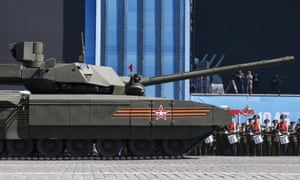 Russia's T-14 Armata tank seen in Moscow