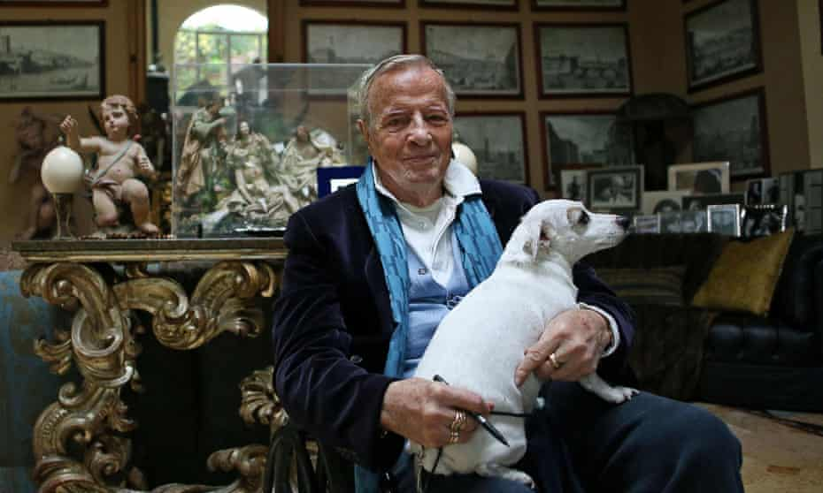 Franco Zeffirelli at his home in 2014.