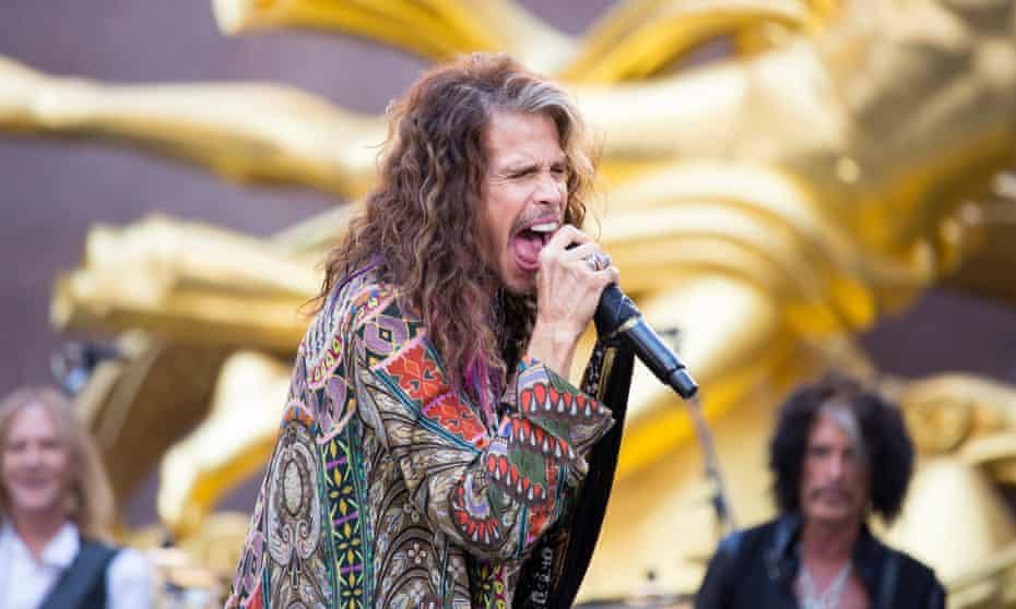 Steven Tyler of Aerosmith, a former patient of Dr Steven Zeitels.