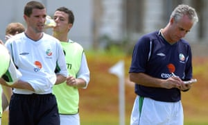 The rock-hard training pitch in Saipan was just one of the things that angered Roy Keane in the buildup to the 2002 World Cup.
