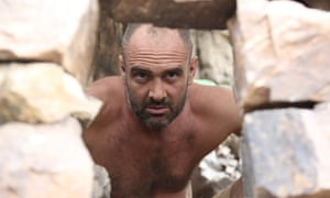 'A one-man existential crisis on the hunt for food' … Ed Stafford.