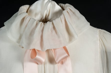 The pale pink Emanuel blouse.