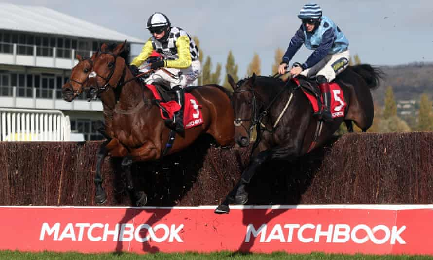 Soldier Of Love in action at Cheltenham in October.
