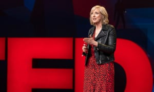 Carole Cadwalladr speaking at TED2019 last week. The Observer journalist was invited to give a talk in a session tagged Truth.