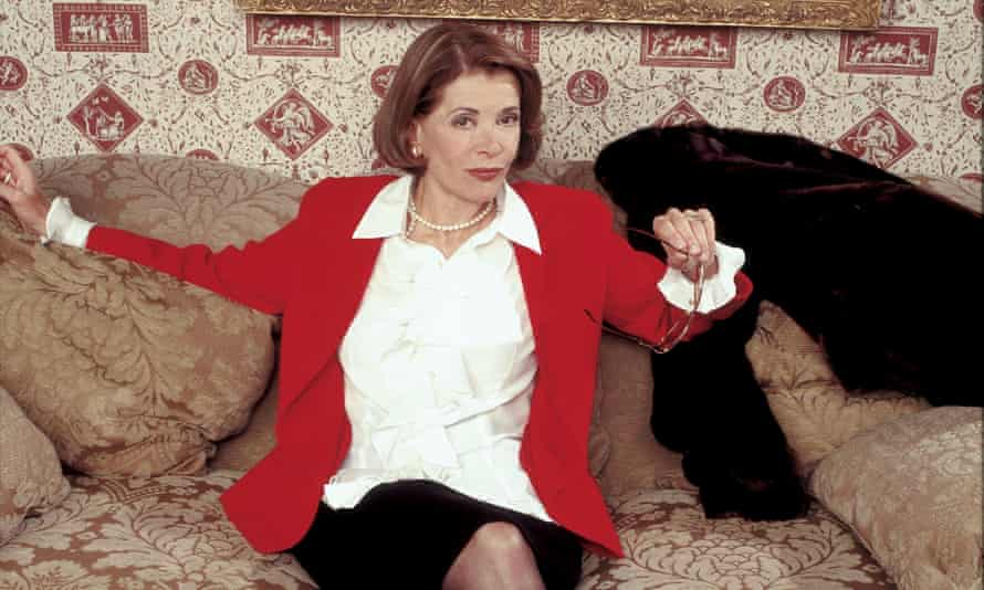 The heart of the show … Jessica Walter as Lucille Bluth in Arrested Development in 2003.