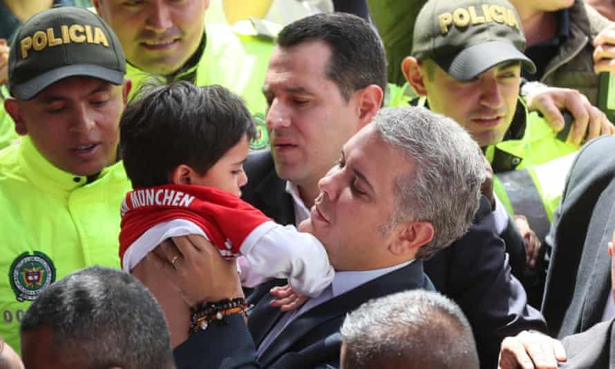 President-elect Iván Duque