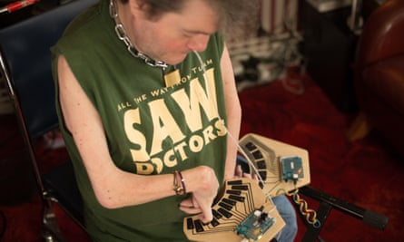 John Kelly, musician and campaigner, who sang Ian Dury's Spasticus Autisticus at the 2012 Paralympics