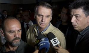 Presidential candidate Jair Bolsonaro has denied having ties to Steve Bannon.