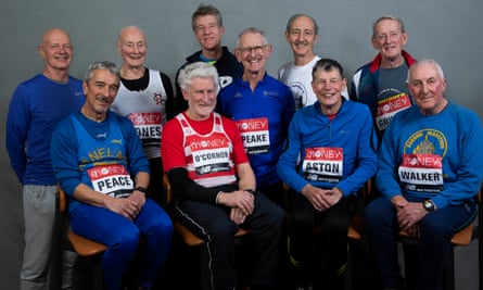 The Ever Presents will run the London Marathon for the 40th time.