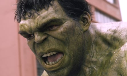 Mark Ruffalo as The Hulk in 2015's Avengers: Age of Ultron. The actor has shot down Boris Johnson's comparison of himself to Hulk in the no-deal Brexit battle.