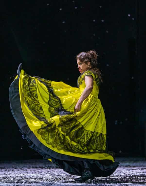 Danielle de Niese, a show-stealing Musetta in the Royal Opera's La bohème.