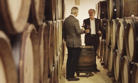 Wine maker Laurent Ponsot in the documentary Sour Grapes.