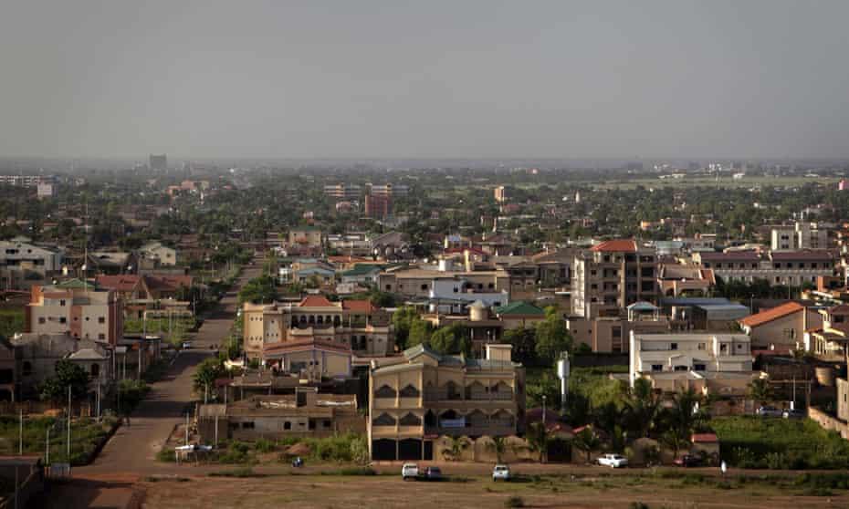 Burkina Faso's capital city, Ouagadougou.