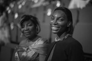 Michaela Coel with her mother Kwenua Osborne