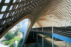 Roof for the Multihalle in Mannheim, Germany.