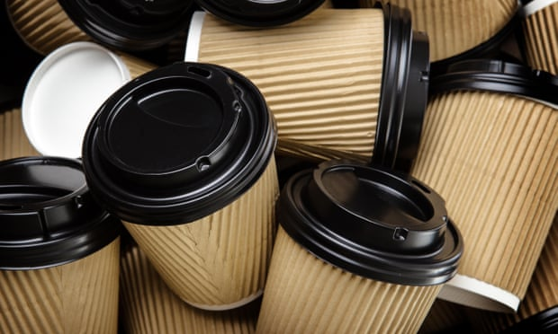theguardian.com - Rebecca Smithers - UK environment department using 1,400 disposable coffee cups a day
