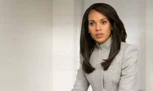 Kerry Washington as Olivia Pope: 'She's the love interest, she's mean, she's kind, she's flawed, she's brilliant at her job. She makes mistakes.'