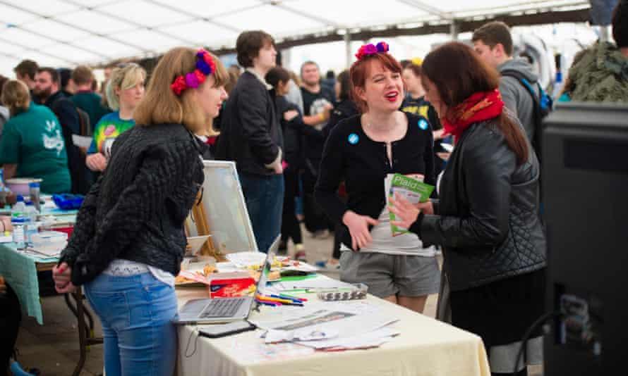 Freshers' week at Aberystwyth University in 2015