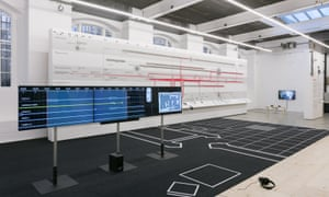 A Forensic Architecture installation at the ICA in London