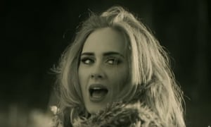 'Concerned with the tensions between authorities and the black community' … Adele in the Hello video